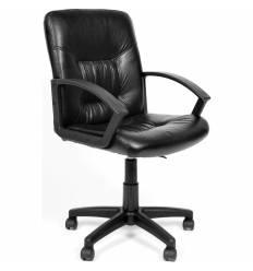 Кресло CHAIRMAN 651 для оператора, экокожа, цвет черный