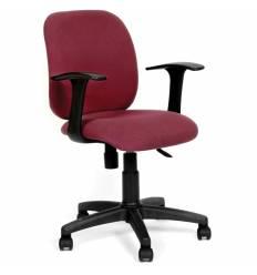 Кресло CHAIRMAN 670/С-18 для оператора, ткань, цвет бордовый