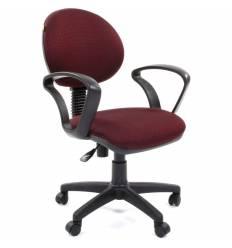 Кресло CHAIRMAN 682/JP15-6 для оператора, ткань, цвет бордовый