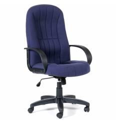 Кресло CHAIRMAN 685/10-362 для руководителя, ткань, цвет синий