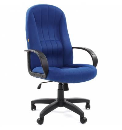 Кресло CHAIRMAN 685/TW-10  для руководителя, ткань, цвет синий