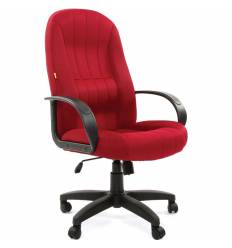 Кресло CHAIRMAN 685/TW-13 для руководителя, ткань, цвет бордовый