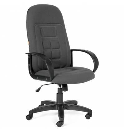 Кресло CHAIRMAN 727/20-23 для руководителя, ткань, цвет серый
