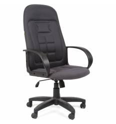 Кресло CHAIRMAN 727/TW-12 для руководителя, ткань, цвет серый