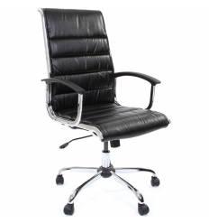 Кресло CHAIRMAN 760/black для руководителя, экокожа, цвет черный