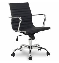 Кресло College H-966L-2/BLACK для руководителя, цвет черный