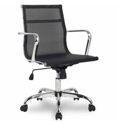 Кресло College H-966F-2/Black для руководителя, цвет черный