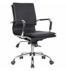 Кресло College XH-635B/BLACK для руководителя, цвет черный