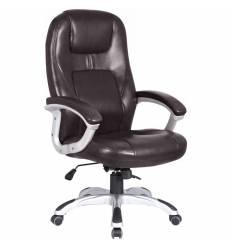 Кресло College XH-869/BROWN для руководителя, цвет коричневый