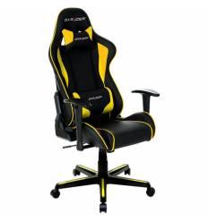 Кресло DXRacer OH/FL08/NY Formula Series, компьютерное, цвет черный/желтый