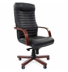 Кресло CHAIRMAN 480 WD/black для руководителя, экокожа, цвет черный