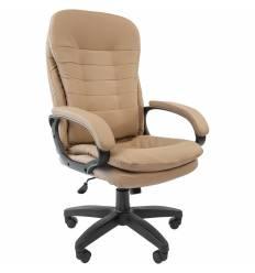 Кресло CHAIRMAN 795 LT/Canvas для руководителя, экокожа, цвет бежевый
