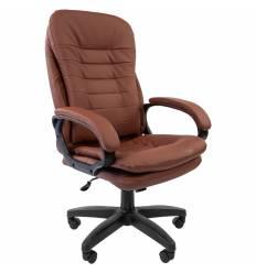 Кресло CHAIRMAN 795 LT/brown для руководителя, экокожа, цвет коричневый