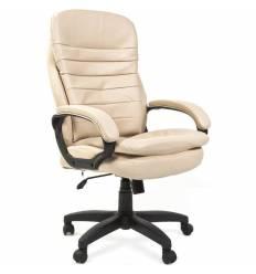 Кресло CHAIRMAN 795 LT/Sablia для руководителя, экокожа, цвет светло-бежевый