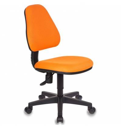 Кресло Бюрократ KD-4/TW-96-1 детское, цвет оранжевый