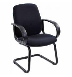Кресло Бюрократ CH-808-LOW-V/BLACK для посетителя, цвет черный