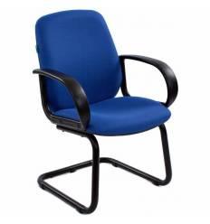 Кресло Бюрократ CH-808-LOW-V/BLUE для посетителя, цвет синий