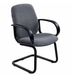 Кресло Бюрократ CH-808-LOW-V/GREY для посетителя, цвет серый