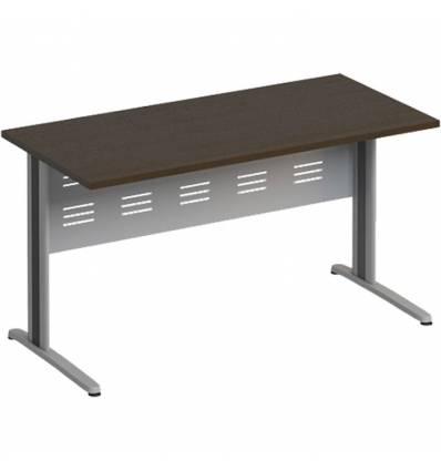 Стол офисный СТОРОСС Формула ФР-1202-ВТ на металлокаркасе МФ для персонала, 140*67*75, цвет венге