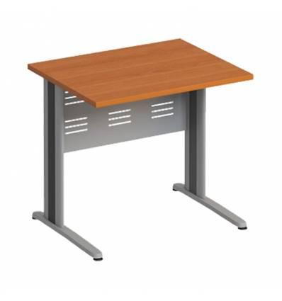 Стол офисный СТОРОСС Формула ФР-1204-ЛХ на металлокаркасе МФ для персонала, 84.4*67*75, цвет ольха