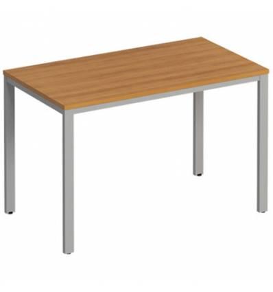 Стол офисный СТОРОСС Формула ФР-151-ОН на металлокаркасе МП2 для персонала, 120*67*75, цвет орех натуральный