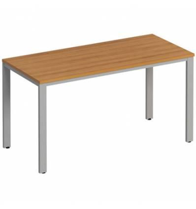 Стол офисный СТОРОСС Формула ФР-152-ОН на металлокаркасе МП2 для персонала, 140*67*75, цвет орех натуральный