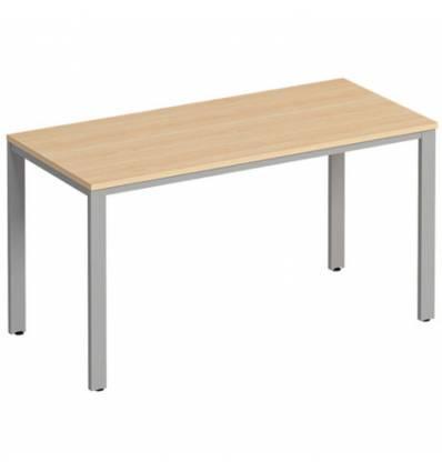 Стол офисный СТОРОСС Формула ФР-152-БК на металлокаркасе МП2 для персонала, 140*67*75, цвет бук