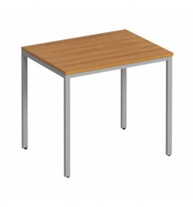 Стол офисный СТОРОСС Формула ФР-150-ОН на металлокаркасе МП2 для персонала, 84.4*67*75, цвет орех натуральный