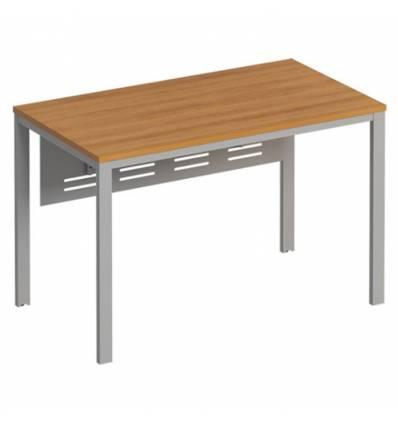 Стол офисный СТОРОСС Формула ФР-191-ОН на металлокаркасе МП2 для персонала, 120*67*75, цвет орех натуральный