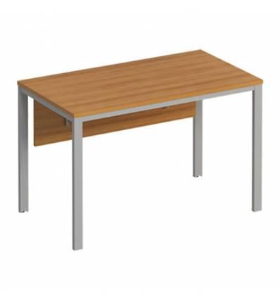 Стол офисный СТОРОСС Формула ФР-157-ОН на металлокаркасе МП2 для персонала, 120*67*75, цвет орех натуральный