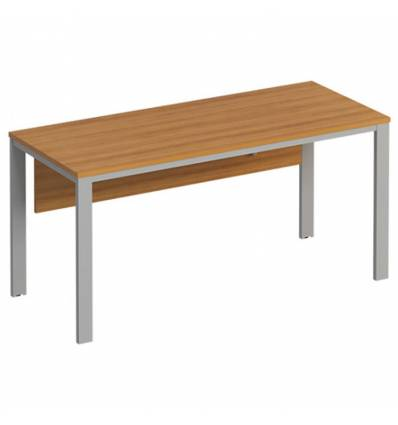 Стол офисный СТОРОСС Формула ФР-159-ОН на металлокаркасе МП2 для персонала, 160*67*75, цвет орех натуральный