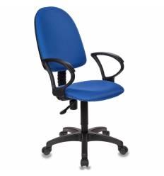 Кресло Бюрократ CH-1300/BLUE для оператора, цвет синий