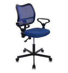 Кресло Бюрократ CH-799M/BL/TW-10 для оператора, цвет синий