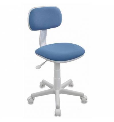 Кресло Бюрократ CH-W201NX/26-24 детское, цвет голубой