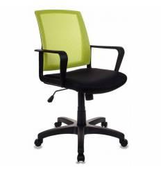 Кресло Бюрократ CH-498/SD/TW-11 для оператора, цвет салатовый/черный