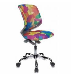 Кресло Бюрократ KD-7/ABSTRACT детское, цвет мультиколор абстракция