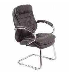 Кресло Бюрократ T-9950AV/BLACK для посетителя, цвет черный