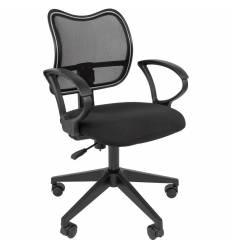 Кресло CHAIRMAN 450 LT/BLACK для оператора, сетка/ткань, цвет черный