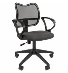 Кресло CHAIRMAN 450 LT/GREY для оператора, сетка/ткань, цвет черный/серый