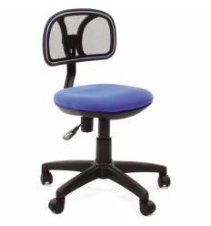 Кресло CHAIRMAN 250/BLUE для оператора, цвет черный/синий