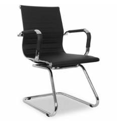 Кресло College XH-632AV/Black для посетителя, цвет черный