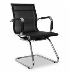 Кресло College XH-633AV/Black для посетителя, цвет черный
