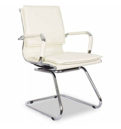 Кресло College XH-635AV/Beige для посетителя, цвет бежевый