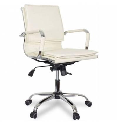 Кресло College XH-635B/Beige для руководителя, цвет бежевый