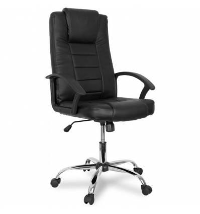 Кресло College BX-3375/Black для руководителя, цвет черный