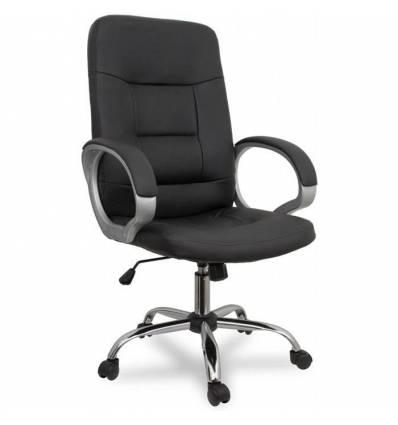 Кресло College BX-3225-1/Black для руководителя, цвет черный
