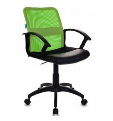 Кресло Бюрократ CH-590/SD/BLACK для оператора, цвет салатовый/черный