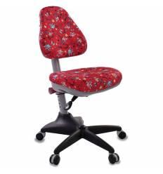 Кресло Бюрократ KD-2/R/ANCHOR-RD детское, цвет красный якоря