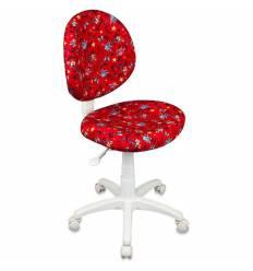 Кресло Бюрократ KD-W6/ANCHOR-RD детское, цвет красный якоря
