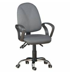 Кресло EChair-206 PE/grey для оператора, ткань, цвет серый